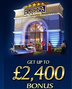 europa casino bonus 2400