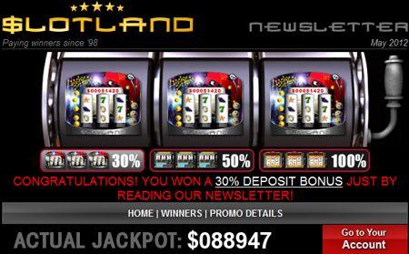 slotland 05 12 bonus